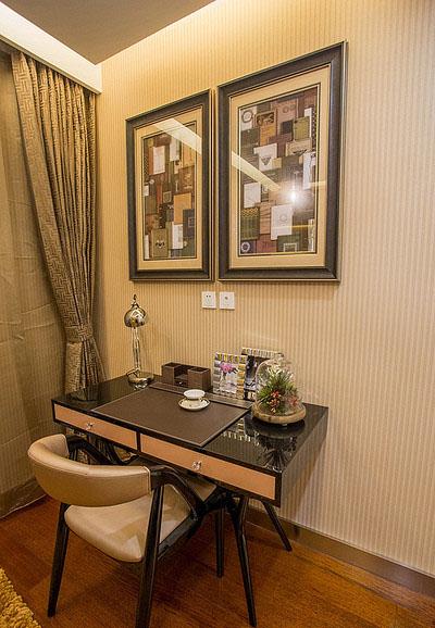 书房图片来自家装大管家在清新小资 89平港式自然简约空间的分享