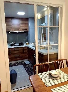 北欧 二居 白领 收纳 80后 厨房图片来自中博装饰在观澜时代朗轩89方北欧风格的分享