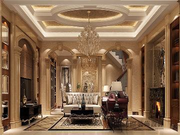 220平米大气奢华欧式联排别墅