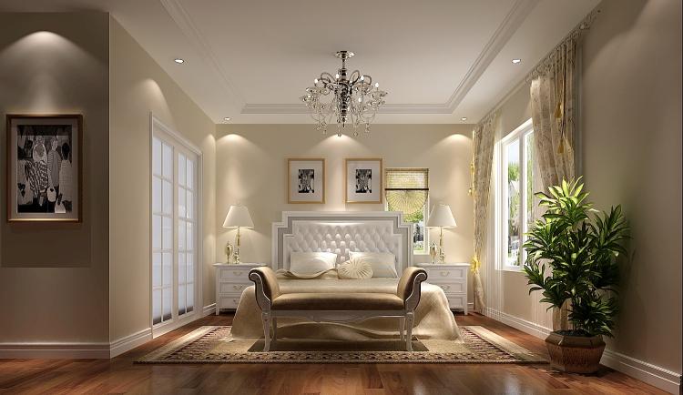 简约 三居 卧室图片来自北京高度国际装饰在潮白河孔雀城190简约的分享