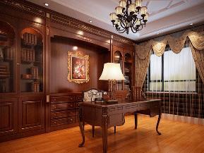 三居 收纳 美式 80后 小资 书房图片来自tjsczs88在奢华美式的分享