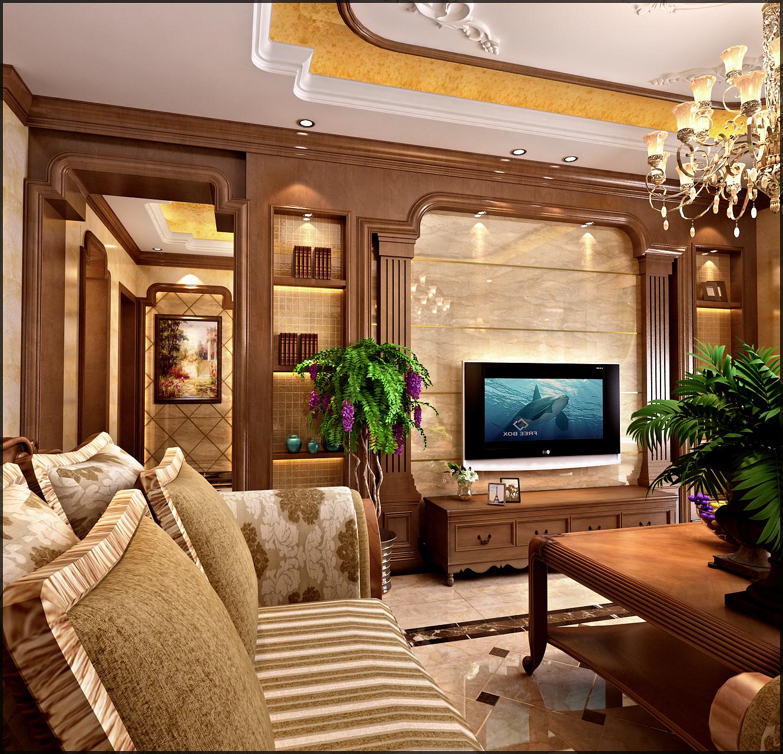 欧式 混搭 别墅 客厅 卧室 厨房图片来自博爵装饰在泛亚国际悦城的分享