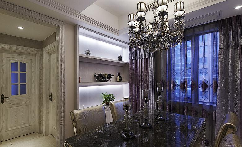 欧式 混搭 二居 白领 餐厅图片来自武汉全有装饰在广电兰亭荣荟81平现代欧式风格的分享