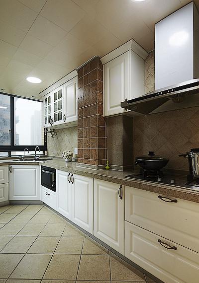 欧式 混搭 二居 白领 厨房图片来自武汉全有装饰在广电兰亭荣荟81平现代欧式风格的分享