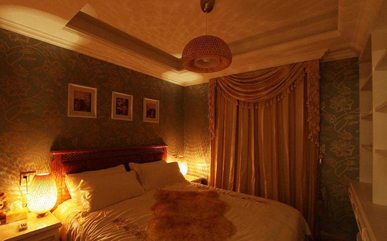 欧式 二居 小资 卧室图片来自武汉全有装饰在广电兰亭荣荟83平欧式风格的分享
