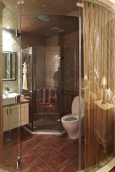 欧式 三居 白领 80后 小资 卫生间图片来自武汉全有装饰在奥山世纪城128平欧式风格的分享