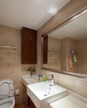 简约 美式 三居 小资 白领 卫生间图片来自武汉全有装饰在金地澜菲溪岸126平美式简约的分享