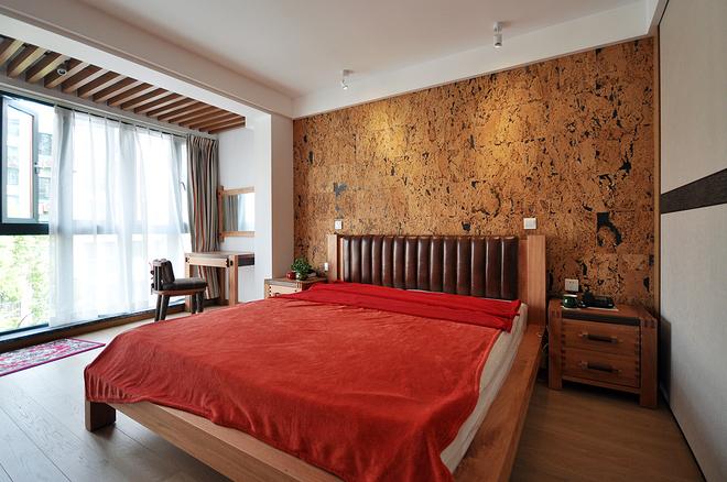 简约 现代 二居 小资 80后 卧室图片来自武汉全有装饰在奥山世纪城94平原木风格的分享
