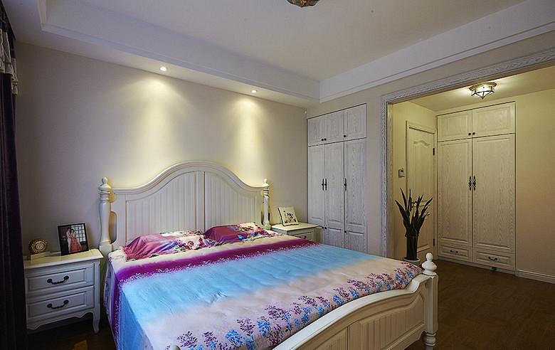 欧式 混搭 二居 白领 卧室图片来自武汉全有装饰在广电兰亭荣荟81平现代欧式风格的分享