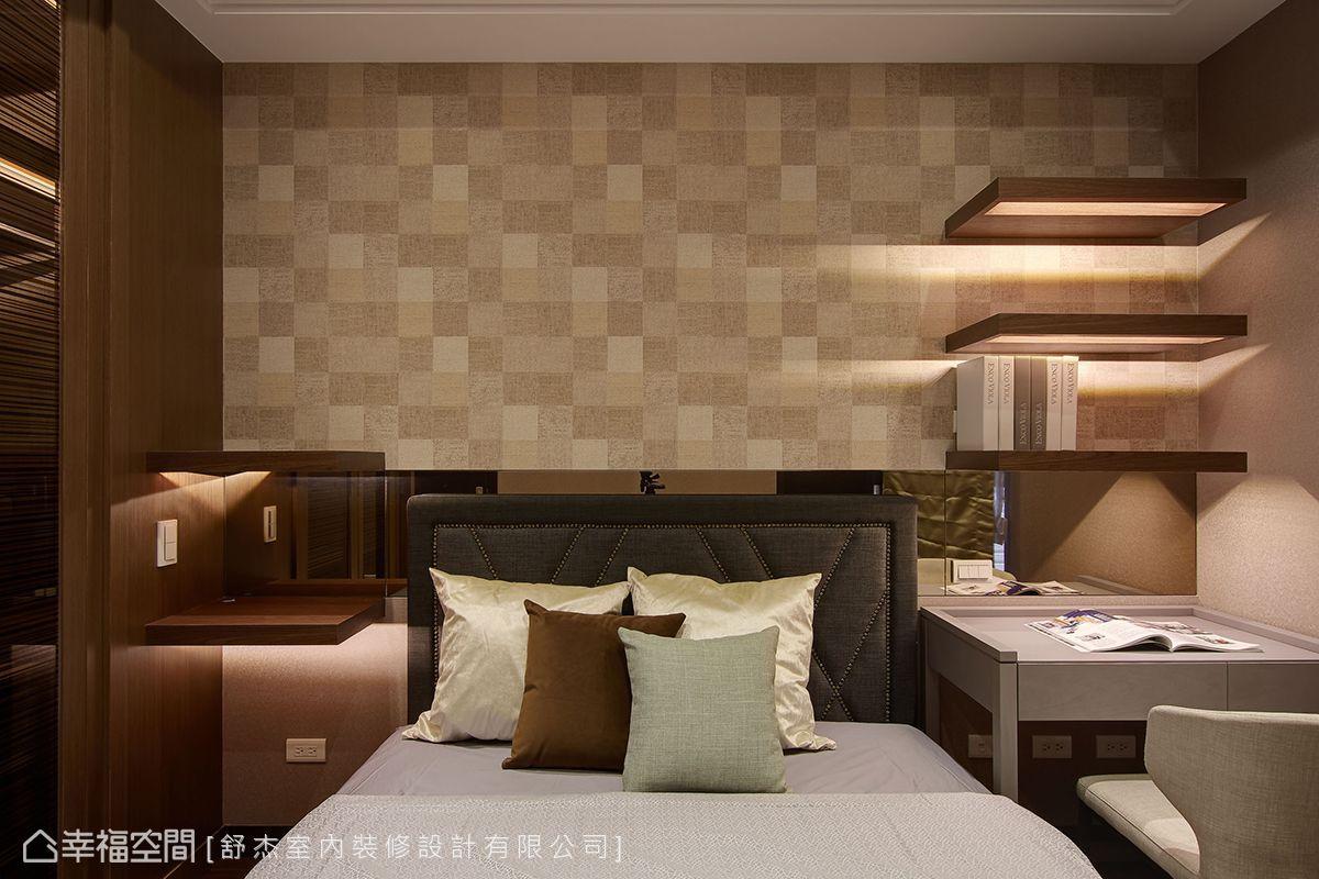 四房 简约 现代 收纳 旧房改造 卧室图片来自幸福空间在风風尚雅逸的分享