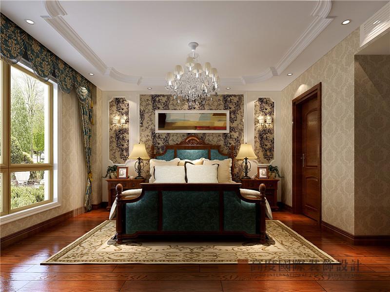 欧式 大平层 平层 小资 蓝岸丽舍 卧室图片来自沙漠雪雨在300平米欧式奢华大气贵族范平层的分享