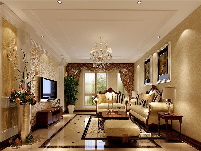 欧式 大平层 平层 小资 蓝岸丽舍 客厅图片来自沙漠雪雨在300平米欧式奢华大气贵族范平层的分享