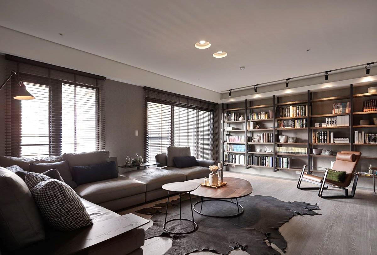 简约 客厅图片来自西安龙发装饰:全晓龙在56°灰~优雅格调的分享