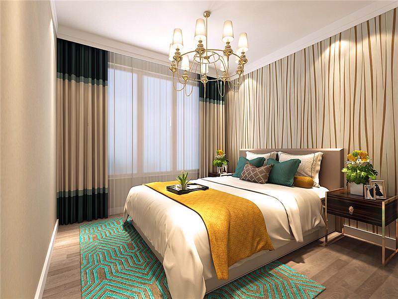 龙发装饰 洞庭路壹号 北欧 三居 三室两厅 卧室图片来自龙发装饰天津公司在洞庭路壹号135平米北欧风格的分享