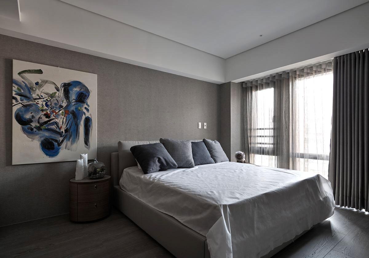 简约 卧室图片来自西安龙发装饰:全晓龙在56°灰~优雅格调的分享