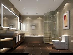 三居 中式 现代 别墅 白领 卫生间图片来自北京高度国际装饰在8哩岛280㎡现代中式的分享