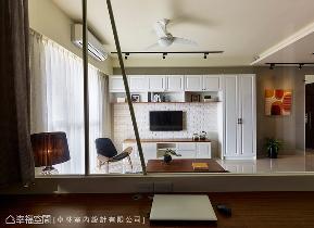 美式 简约 收纳 二居 书房图片来自幸福空间在日光美式宅 砌出90平的馨暖惬意的分享