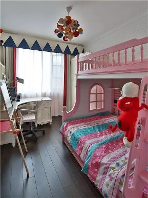 现代 混搭 现代混搭 三居 白领 小资 儿童房图片来自沙漠雪雨在120平米现代混搭风三居享悦之所的分享