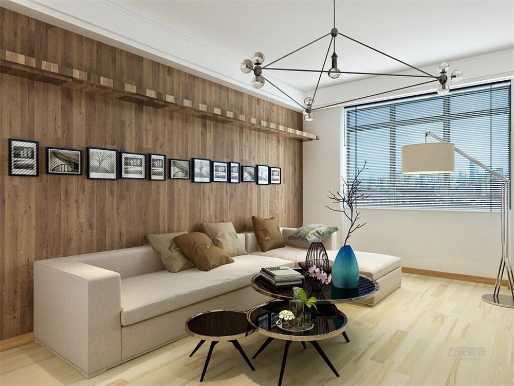 仁恒滨河湾 二居 简约 客厅图片来自阳光放扉er在力天装饰-仁恒滨河湾94㎡的分享