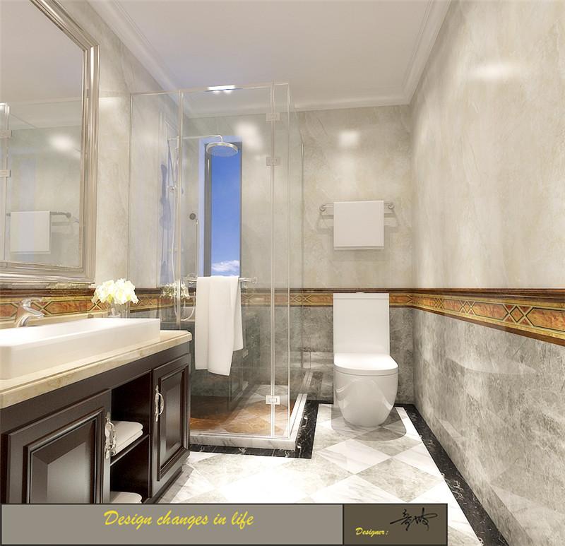 龙发装饰 格调林泉 平层 欧式 三居 卫生间图片来自龙发装饰天津公司在格调林泉220平米欧式风格的分享