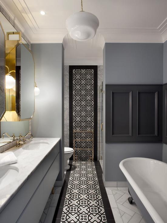 简约 美式 卫生间图片来自别墅设计师杨洋在温馨浪漫的简美风格的分享
