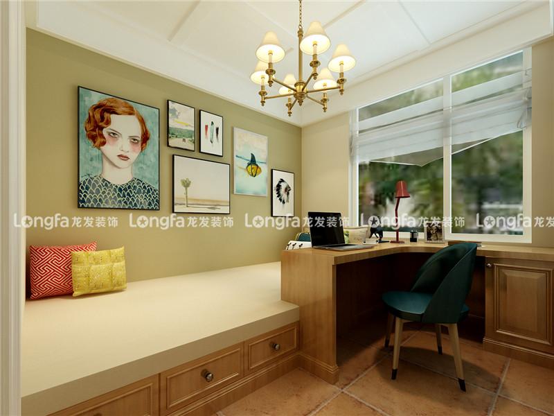 龙发装饰 美式 混搭 格调林泉 三居 儿童房图片来自龙发装饰天津公司在格调林泉118平米美式混搭风格的分享