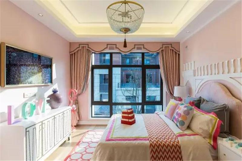 龙发装饰 现代 中式 格调林泉 平层 儿童房图片来自龙发装饰天津公司在格调林泉250平米现代中式风格的分享