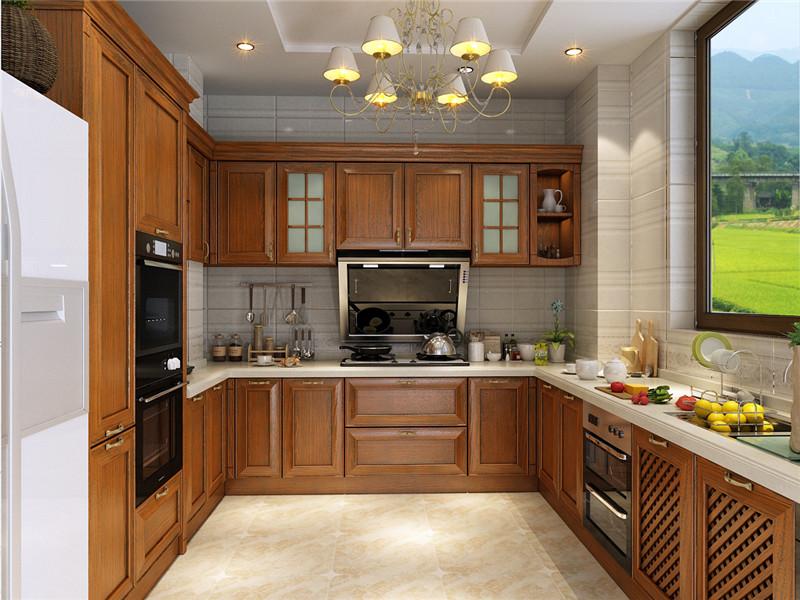 龙发装饰 格调林泉 三居 美式 室内装修 厨房图片来自龙发装饰天津公司在格调林泉128平米美式风格的分享