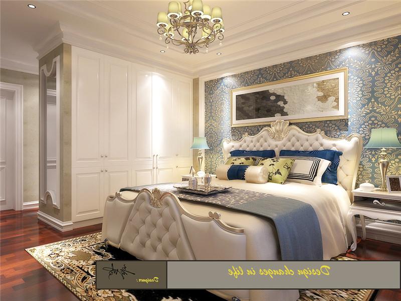 龙发装饰 格调林泉 平层 欧式 三居 卧室图片来自龙发装饰天津公司在格调林泉220平米欧式风格的分享