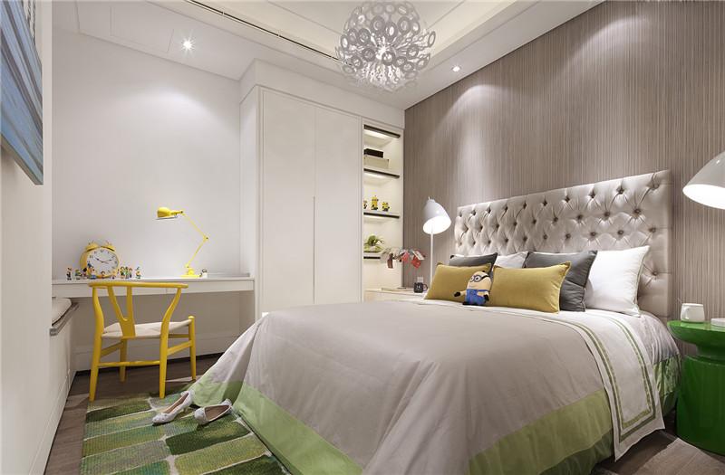 龙发装饰 格调林泉 现代 简约 二居 卧室图片来自龙发装饰天津公司在格调林泉90平米现代极简风格的分享