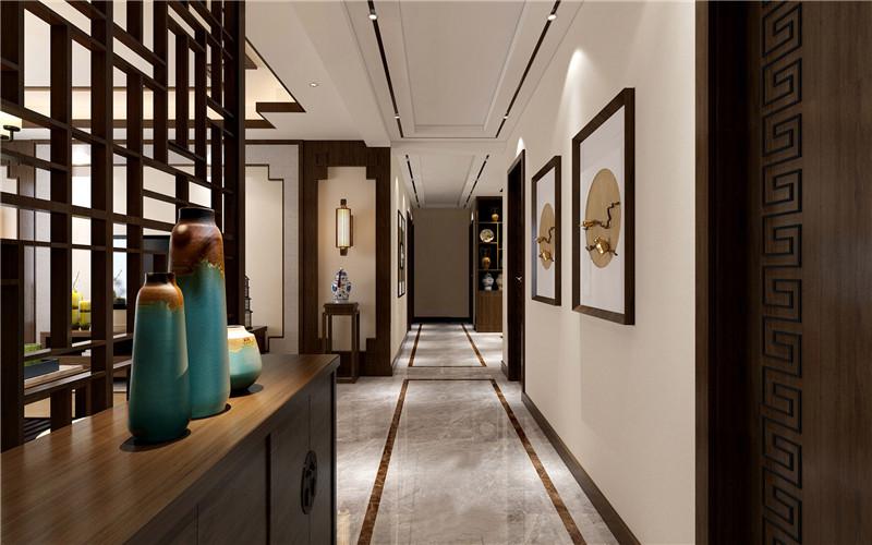 龙发装饰 格调林泉 四居 现代 中式 客厅图片来自龙发装饰天津公司在格调林泉220平米现代中式风格的分享
