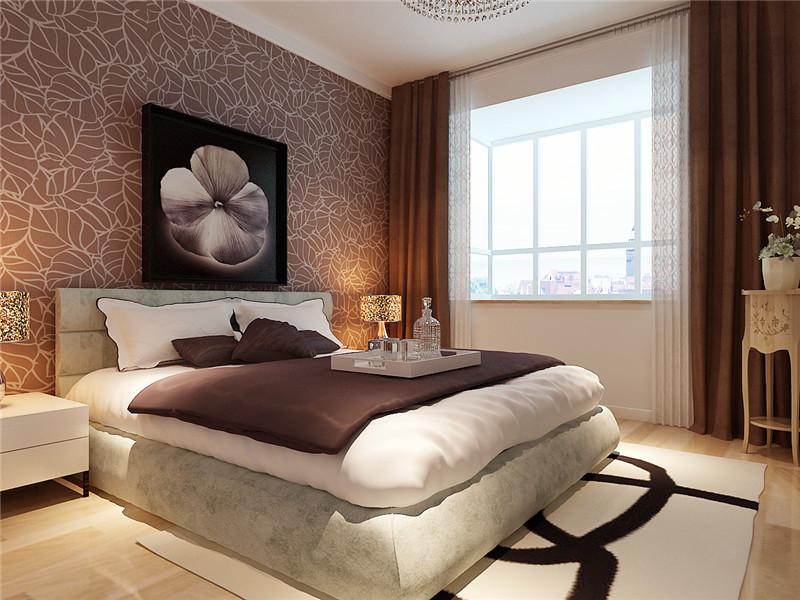龙发装饰 格调林泉 简约 现代 三居 卧室图片来自龙发装饰天津公司在格调林泉132平米现代简约风格的分享