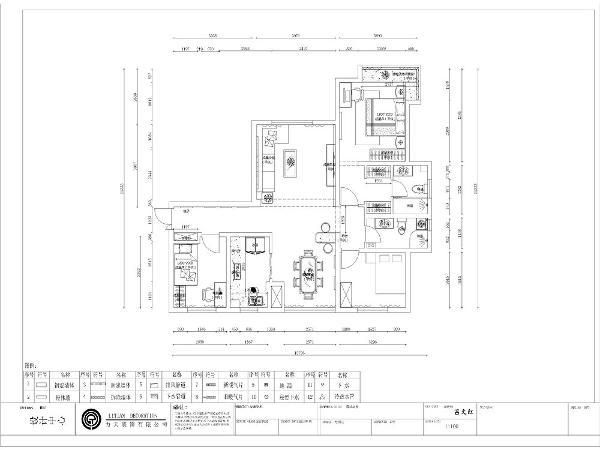本方案为五矿榕园d户型3室2厅2卫1厨152㎡,从入户门进入有一段长长的走廊,右面是书房,面积较小,接下来是厨房,面积较大,与餐厅相邻,给用餐节省了时间,也给业主用餐带来方便。