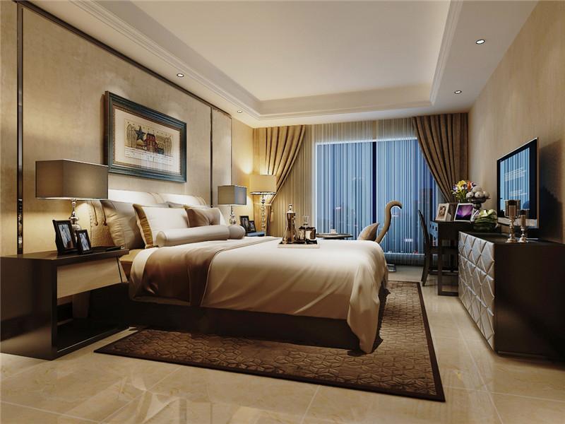 龙发装饰 格调林泉 二居 简约 现代 卧室图片来自龙发装饰天津公司在格调林泉101平米现代简约的分享
