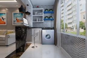 二居 新房 实创 简约 欧式 白领 80后 阳台图片来自快乐彩在启迪协信·青岛科技城81平简欧的分享