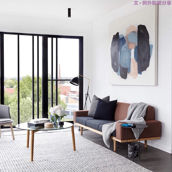 室内设计 软装设计 室内设计师 别墅设计 卧室设计 客厅设计 软装设计师 设计公司图片来自例外软装设计在简约风格不是简单少,而是刚刚好的分享