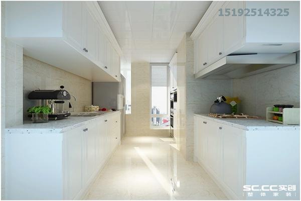 三居 鲁商首府 美式 实创 80后 厨房图片来自快乐彩在鲁商首府150平美式三居室的分享