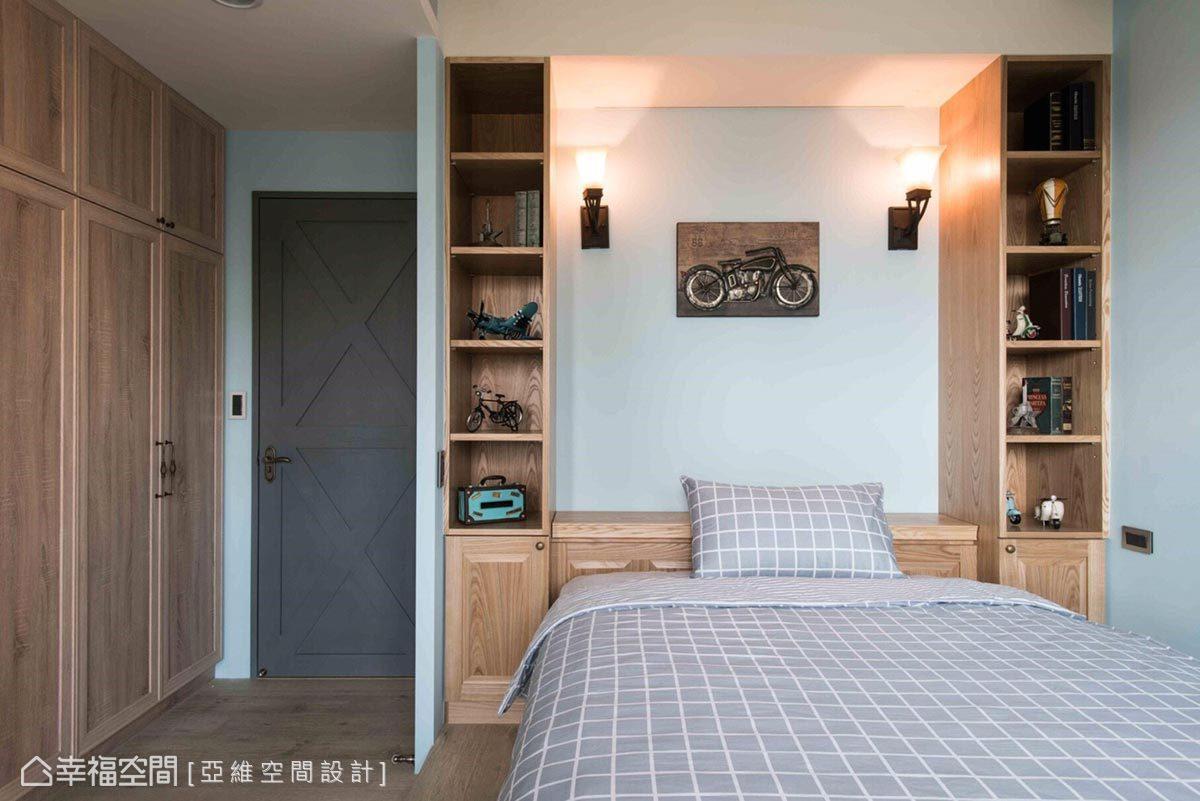 乡村 简约 田园 收纳 卧室图片来自幸福空间在异国浪漫 形塑大器轻柔南法居的分享