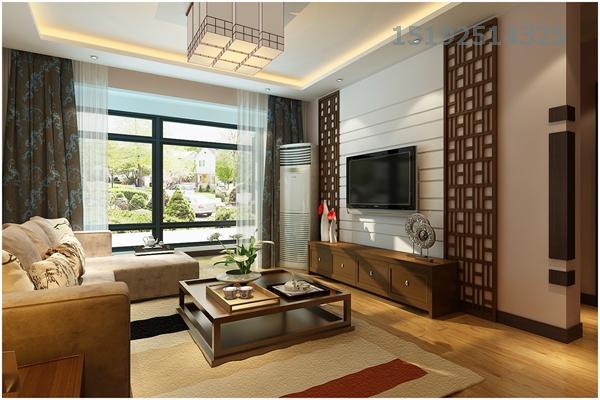三居 海尔 世纪公馆 新中式 白领 客厅图片来自快乐彩在三居室海尔世纪公馆127平新中式的分享