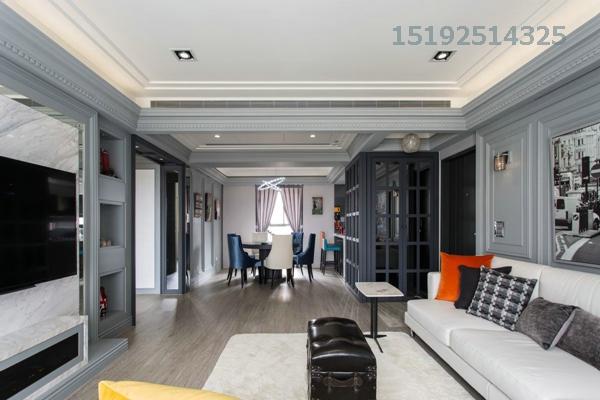 三居 简约 实创 中海蓝庭 小资 客厅图片来自快乐彩在中海蓝庭99平三居室简约装修案例的分享