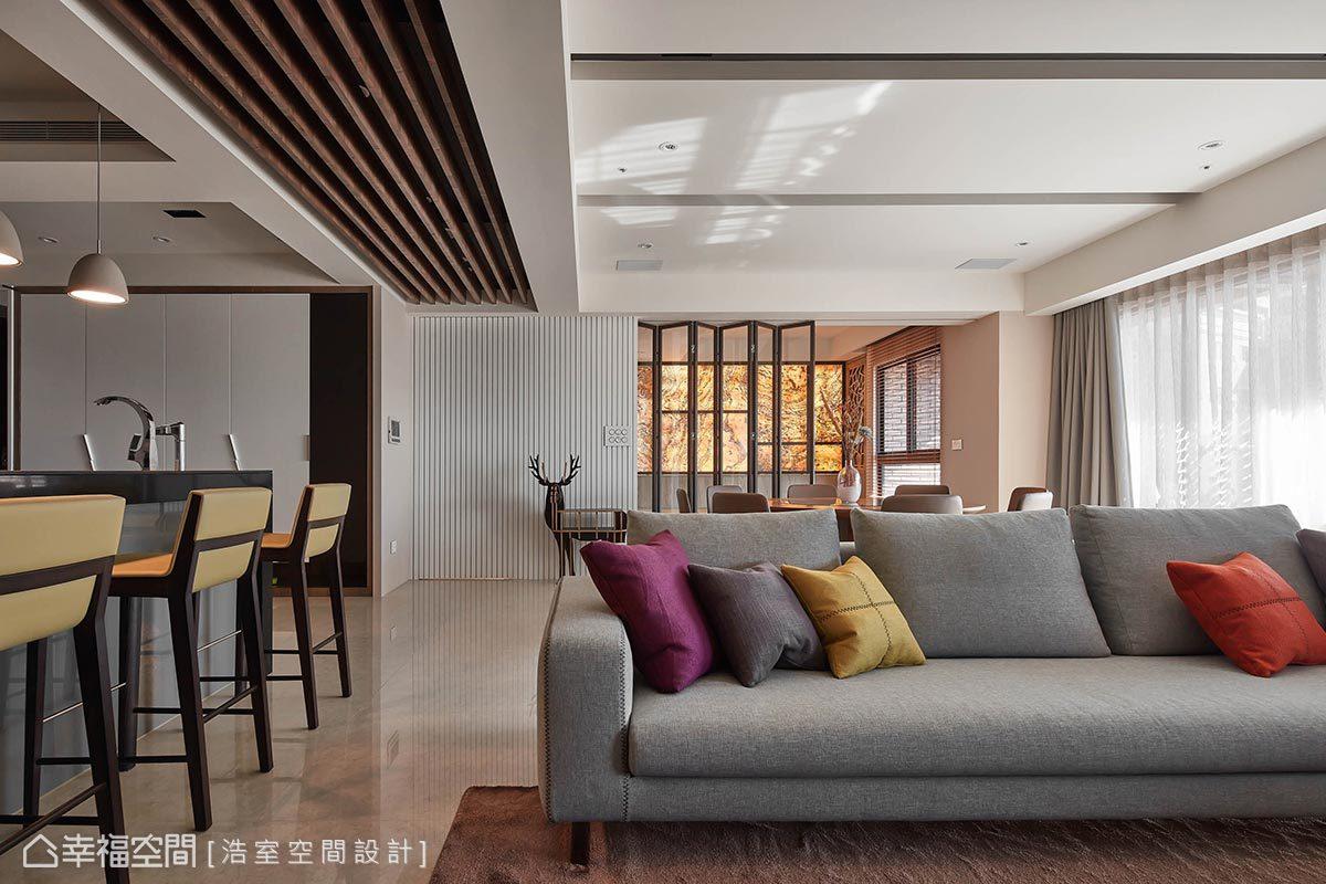 二居 现代 简约 收纳 客厅图片来自幸福空间在现代时尚 大器迎宾宅邸的分享
