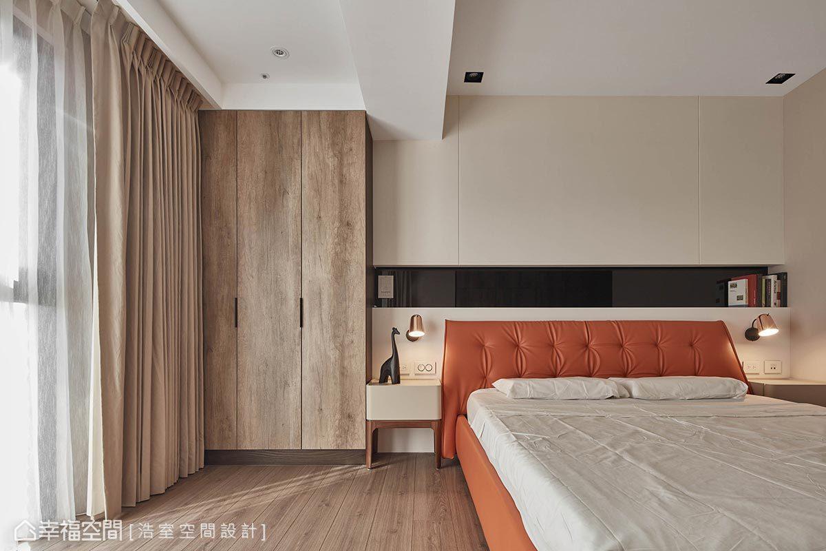 二居 现代 简约 收纳 卧室图片来自幸福空间在现代时尚 大器迎宾宅邸的分享