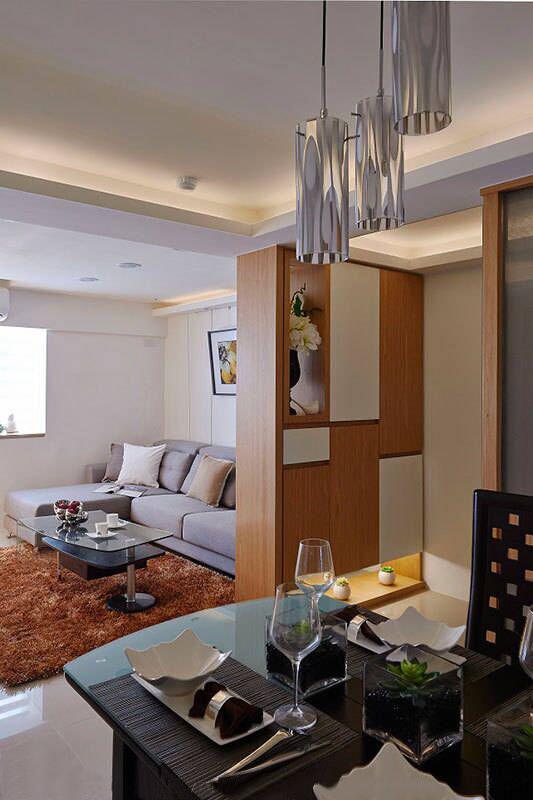客厅图片来自家居装饰-赫拉在兰州实创装饰86㎡现代简约实景的分享