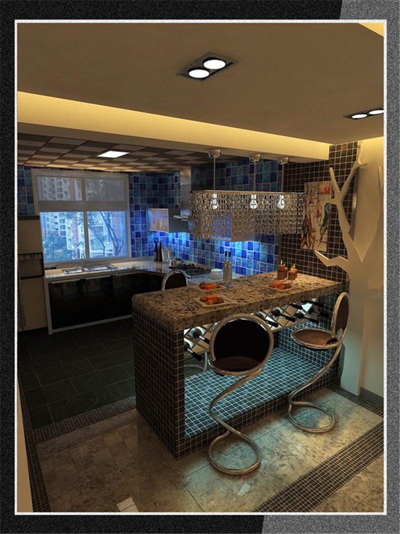 格调林泉 三居 现代 后现代 龙发装饰 餐厅图片来自龙发装饰天津公司在格调林泉132平米后现代风格的分享