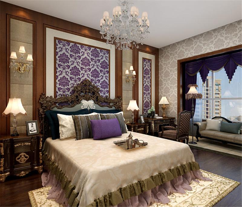 龙发装饰 和平园 欧式 平层 两居 二居 卧室图片来自龙发装饰天津公司在和平园180平米欧式风格的分享