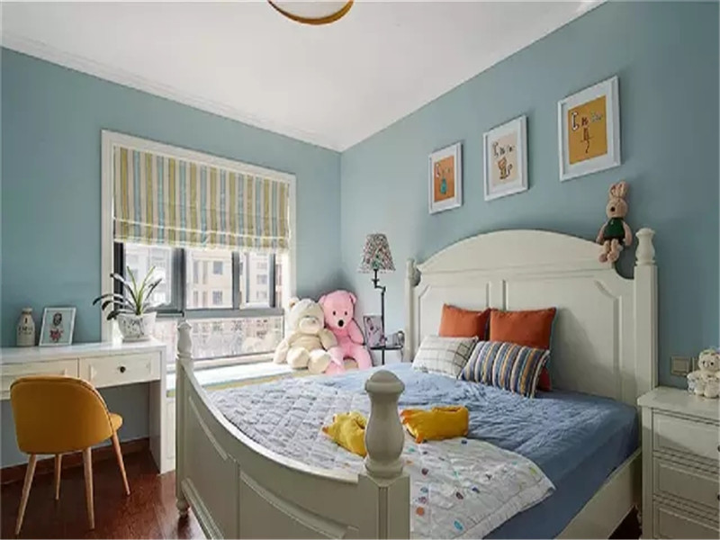 简约美式 美式 三居 白领 收纳 小资 卧室图片来自高度国际姚吉智在135平米美式雅致轻轻触动你心弦的分享