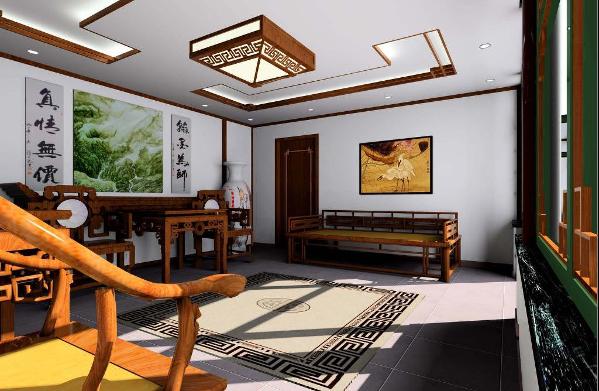 别墅仿古装修在整体的布局上虽然最求对称庄重,而在细节上有更倾向于自然情趣、花鸟鱼虫等精细雕刻,取其美好的寓意来表现人们对美好生活的追求,它是以宫廷建筑为代表的中国古典建筑的室内装饰设计艺术风格。