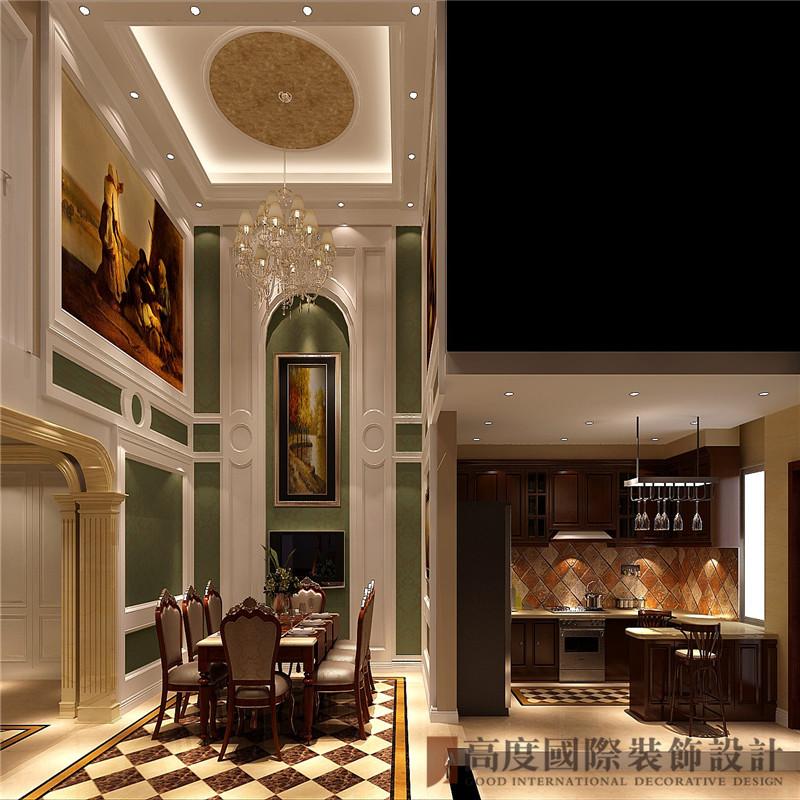 简欧 欧式 中海尚湖世 别墅 小资 厨房图片来自高度国际姚吉智在300平米简欧自然简朴的生活态度的分享