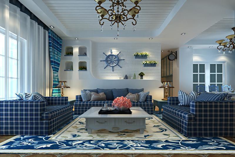 简约 客厅图片来自阿布的小茅屋15034052435在富力城148平米--地中海的分享