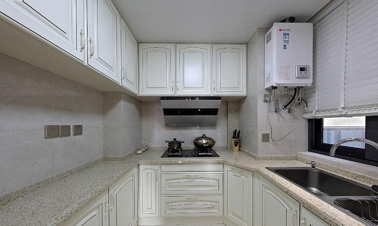 厨房图片来自家装大管家在黑金时代 109平现代简约舒适3居的分享